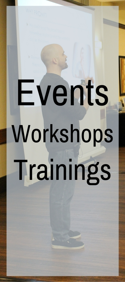 Link to events and trainings
